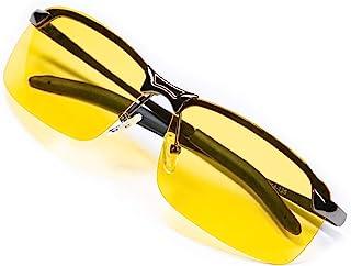 عینک رانندگی شب عکاسی - Anti-Glare، TAC Polarized، HD Night Vision، لنزهای واضح، عینک ایمنی