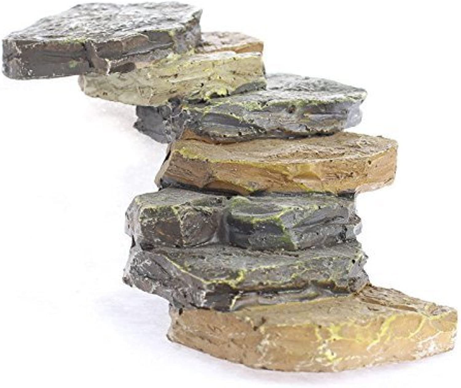 Miniature Resin Stacked Flagstone Look Pathway for Fairy Garden Emebllishments and Miniature Work