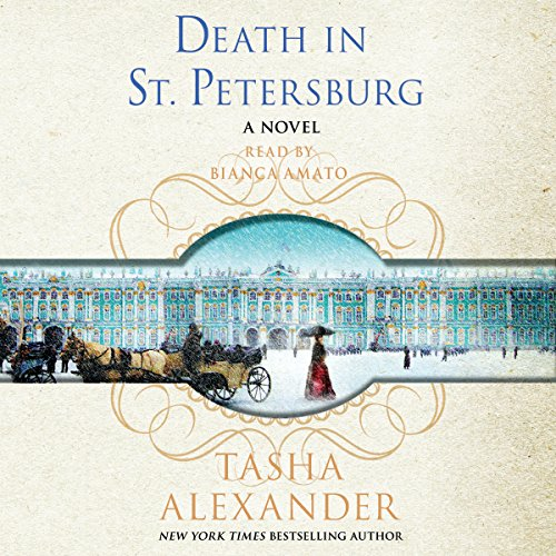 Death in St. Petersburg audiobook cover art