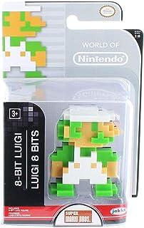 """World of Nintendo 86732 2.5"""" 8 Bit Luigi Action Figure"""