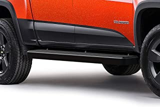 APS iBoard (Black Powder Coated 6 inches) Running Boards Nerf Bars Side Steps Step Rails Compatible with 2015-2020 Chevy Colorado GMC Canyon Crew Cab Pickup 4-Door