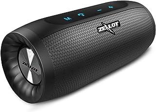 Enceinte Bluetooth 5.0 Portable étanche 20W Haut-Parleur Audio HD Bass Amplifiées with TWS, 4000mAh Powerbank, AUX,TF Cart...