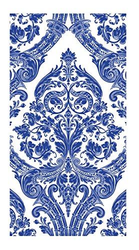 Ideal Home Serie 16Count Boston International 3-lagig Papier Gästetuch Servietten, blau Grandeur