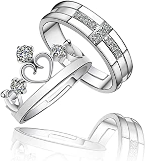 ef62a82bce455 Silver Women's Rings: Buy Silver Women's Rings online at best prices ...