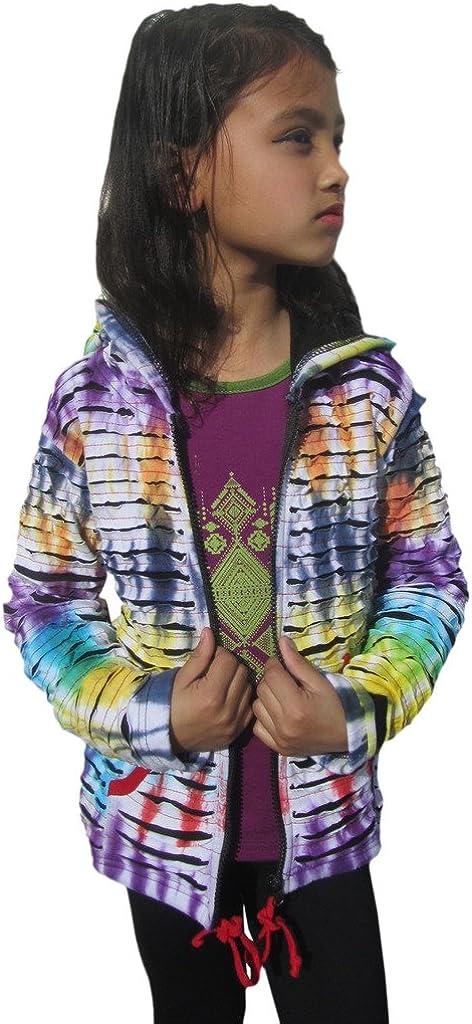 Little Wholesale Kathmandu Kids Razor Cut Girls Cotton Hoodie Super sale Jacket