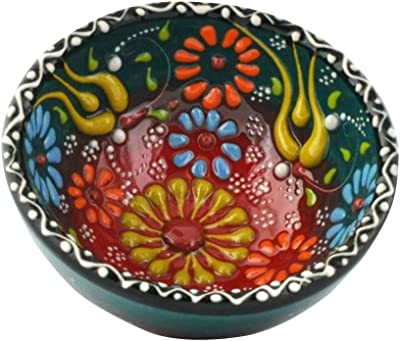 Color2 Natural and Handmade Coconut Bowl WiseArt Vietnamese Coconut Bowl with Egg Shell Inlaid