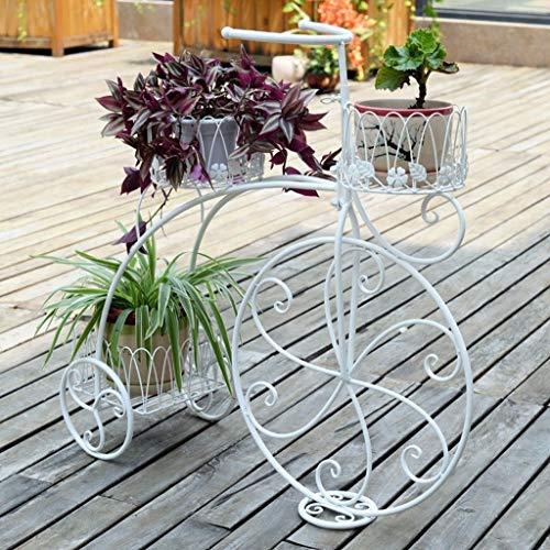 YDS Shop Super Selvaggio Bloembak van ijzer, fietsendrager voor buiten, voor balkon, interieur
