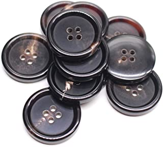 6339ej 7 pieces large buttons cream white 28 mm coat buttons jacket buttons large buttons coat buttons jacket buttons jacket buttons big buttons big buttons