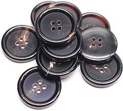 Black 18mm SUPVOX 30pcs Metal Blazer Button Jacket Button Hollow Metal Sewing Button Coat Buttons for DIY Craft Sport Coat Suits Uniform Jacket