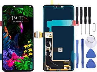 HOUSEHOLD Cell Phones Accessories Maintenance Upkeep Repairs LCD Screen and Digitizer Full Assembly for LG G8 ThinQ / G820...