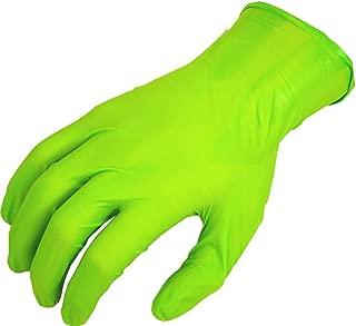 SHOWA N-Dex 7705PFT Accelerator-free Disposable Nitrile Glove, Powder Free, Medium (Pack of 100)