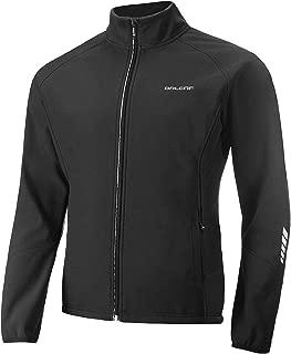 BALEAF Men's Windproof Thermal Softshell Cycling Jacket Water-Repellent Lightweight Windbreaker Winter Jacket
