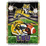 LSU Tigers 'Home Field Advantage' Woven Tapestry Throw Blanket, 48' x 60'