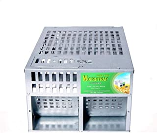 QPLKKMOI Rat Cage Trap, Use Indoors and Outdoors, Pest Control Products