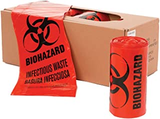 Best red biohazard waste bags Reviews