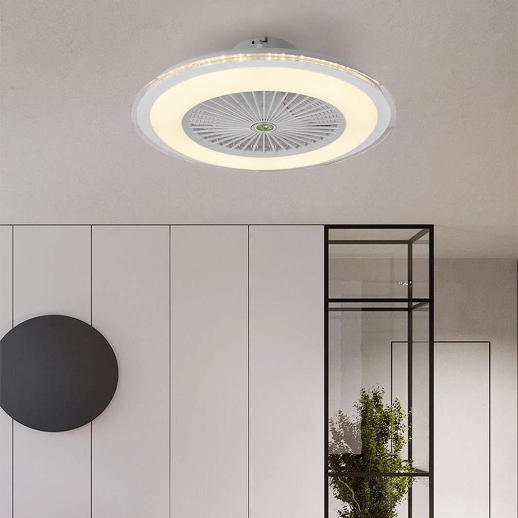 Ventilador de Techo con Iluminación, Lámpara de Dormitorio ...