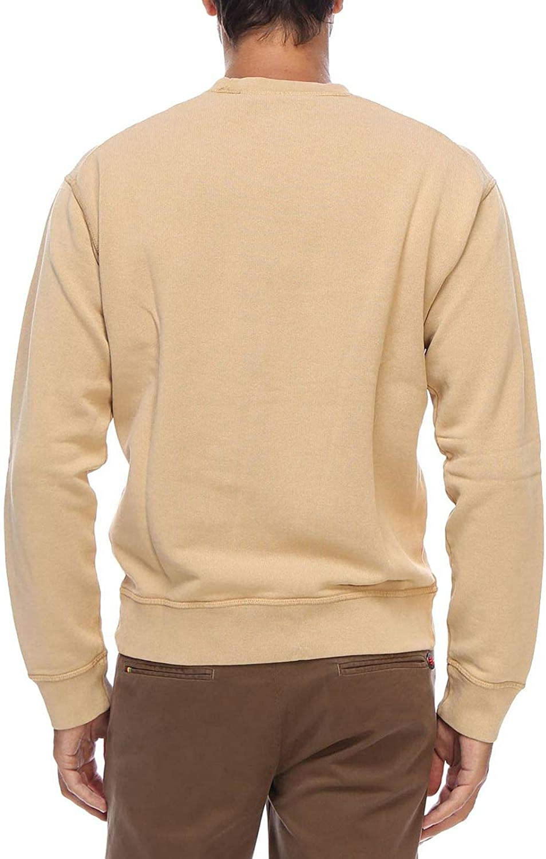 Dsquared2 Sweat-Shirt de Cavalier Rugueux Marron