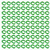 Hwtcjx anillas para palomas, anillas para gallinas, 100 piezas anillos pajaros, Hecho de plástico, duradero, diseño de hebilla, con número 1-100, para pollo, pato, ganso (D: 1.8-2.6cm, verde)
