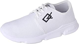 Testa Toro Mesh Embroidered Logo Low-Top Lace-Up Sneakers for Men 42