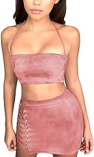 a9897237d Amazon.es: conjunto falda top mujer - Ropa deportiva / Mujer: Ropa
