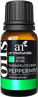 ArtNaturals 100% Pure Peppermint Essential Oil (.33 Fl Oz / 10ml) - Premium Therapeutic Grade Mentha Peperita - Fresh Mint...