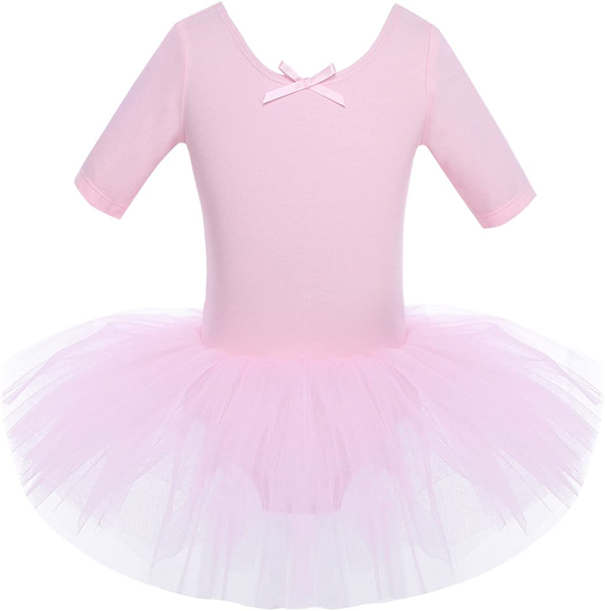 iiniim Kids Girls Cutout Back Ballet Dress Leotard Tutu Dealing full price reduction Sk Dance Max 84% OFF
