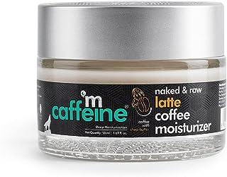 mCaffeine Non-sticky Latte Coffee Moisturizer   Deep Moisturization, Nourishing   Shea Butter, Ceramide   All Skin Types  ...