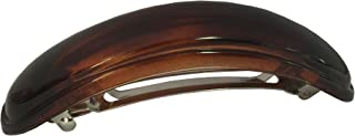 Parcelona 法式拱 3.5 英寸玳瑁 Cellulose 弧形自动发夹 发夹