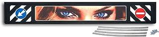 Schmutzfängerleiste'Eyes' (aus Hartgummi), Länge: 2400mm Höhe: 350mm Dicke: ca. 6mm   schwere Ausführung 6,5 kg~