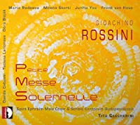 Petite Messe Solennelle by Rossini (2012-11-25)