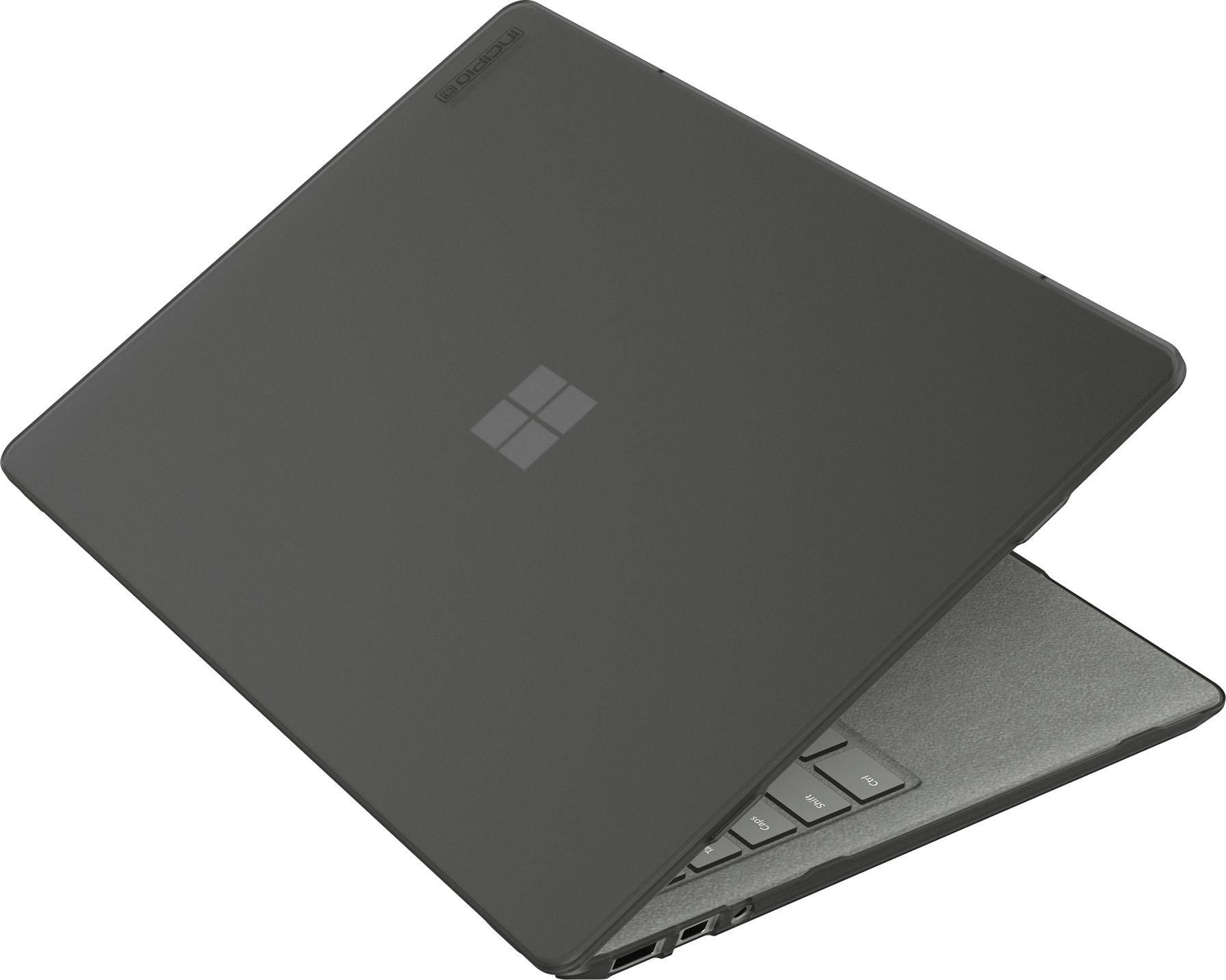 このMicrosoft Surfaceラップトップ用Incipioシェル - マイクロソフト認定[小型&薄型滑り止め足ソフト] - タッチコーティング]  - スモーク0