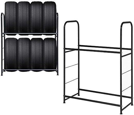 Scaffale per 8 pneumatici UISEBRT 107 x 46 x 117 cm