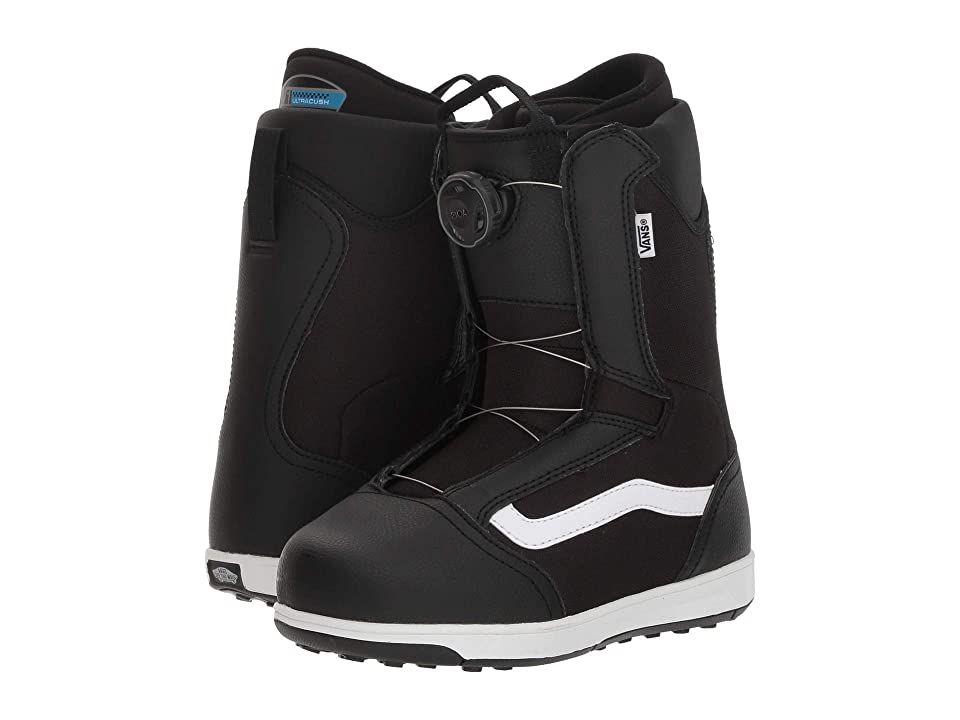 Vans Juvietm BOA (Big Kid) (Black/White) Cold Weather Boots