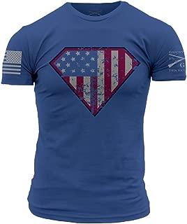 Grunt Style Super Patriot Men's T-Shirt