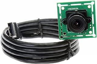 ELP ミニUSBカメラモジュール 0.3MP VGA 無料 ドライバウェブカメラ(8mmレンズ)