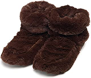 Warmies Womens/Ladies Microwavable Boot Slippers, 90 Seconds Warm Up In One Free Size Of US: 5-9, Various Colours