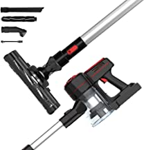 Advwin Cordless Vacuum Cleaner, 1200Pa 3 in 1 Powerful Filter Handheld Wireless Vacuum Cleaner with LED Light and Wall Bra...