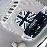 Cubierta protectora de vinilo para interior de techo, compatible con Mini Cooper ONE S JCW F54 Clubman F55 Hardtop F56 Hatchback F57 Covertible F60 Countryman (NF001)