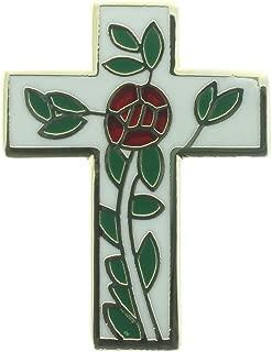 Masonic Rose Croix Lapel Pin Plus Presentation Pouch