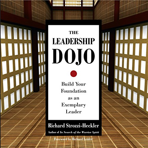 The Leadership Dojo audiobook cover art