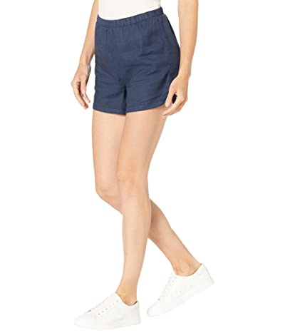 NYDJ Pull-On Shorts in Stretch Linen Twill