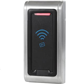 UHPPOTE Waterproof IP65 Wiegand 26 bit 125KHz RFID EM ID Metal Shell Reader for Access Control System