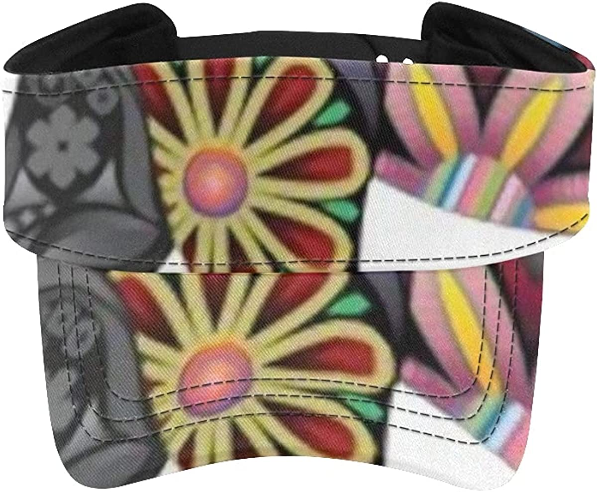 Sun Visor Hat Cheerful Elephant Various Collected Gifts Silhouette Ele favorite