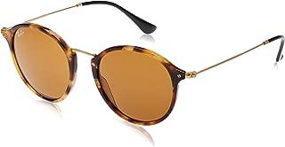 Ray-Ban Mens Round Fleck 0RB2447 Round Sunglasses