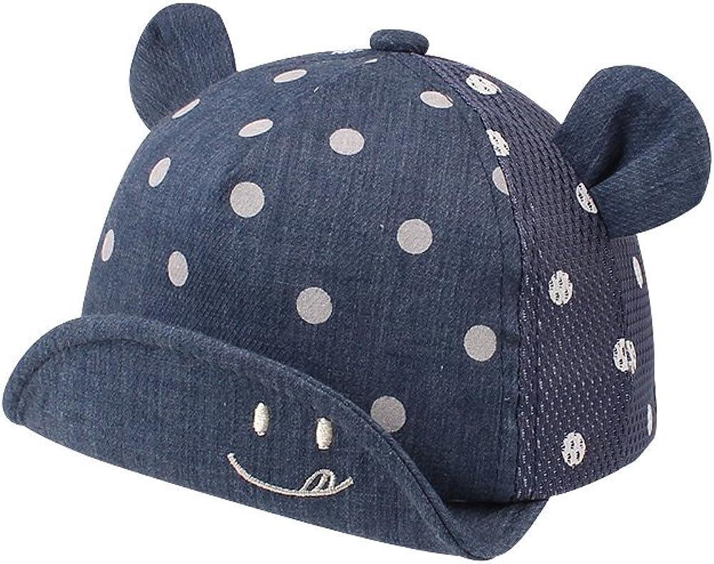 Baby Baseball Cap Infant Boys Girls Elegant Superlatite Hat Size Adjustable Bre Brim