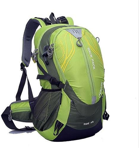 Wmshpeds Sac d'Alpinisme 40L Sac épaule Sac à dos escalade en plein air support de sac d'épaule Sac à dos de cheval de sport imperméable