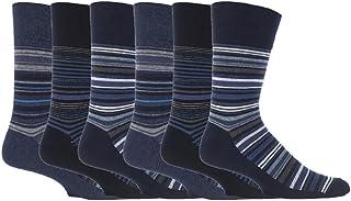 6 pairs Mens SockShop Cotton Gentle Grip 6-11 uk Socks