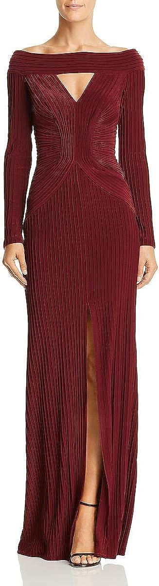 Tadashi Shoji Women's L/S Pintuck Gown