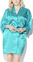 tiffany blue bridesmaid robes
