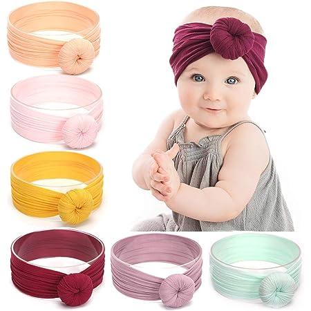 Zubehör für Haare Elastisch Mädchen Baby Knoten Nylon Haarband Big Bow Headband